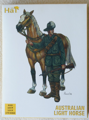 HaT 1/72 HAT8153 Australian Light Horse (WW1)